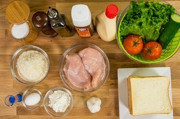 Crispy Chicken Sandwich Ingredients
