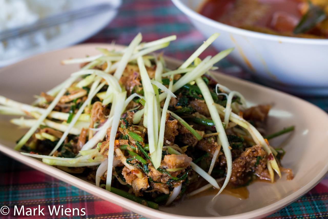 Thai salad in Phuket