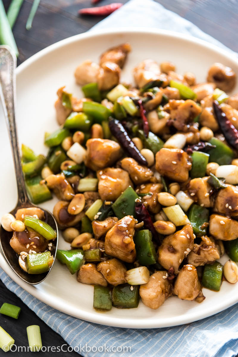 Real deal kung pao chicken good food channel delicious healthy balanced sweet sour numbing spicy and savory flavors make for the perfect forumfinder Choice Image