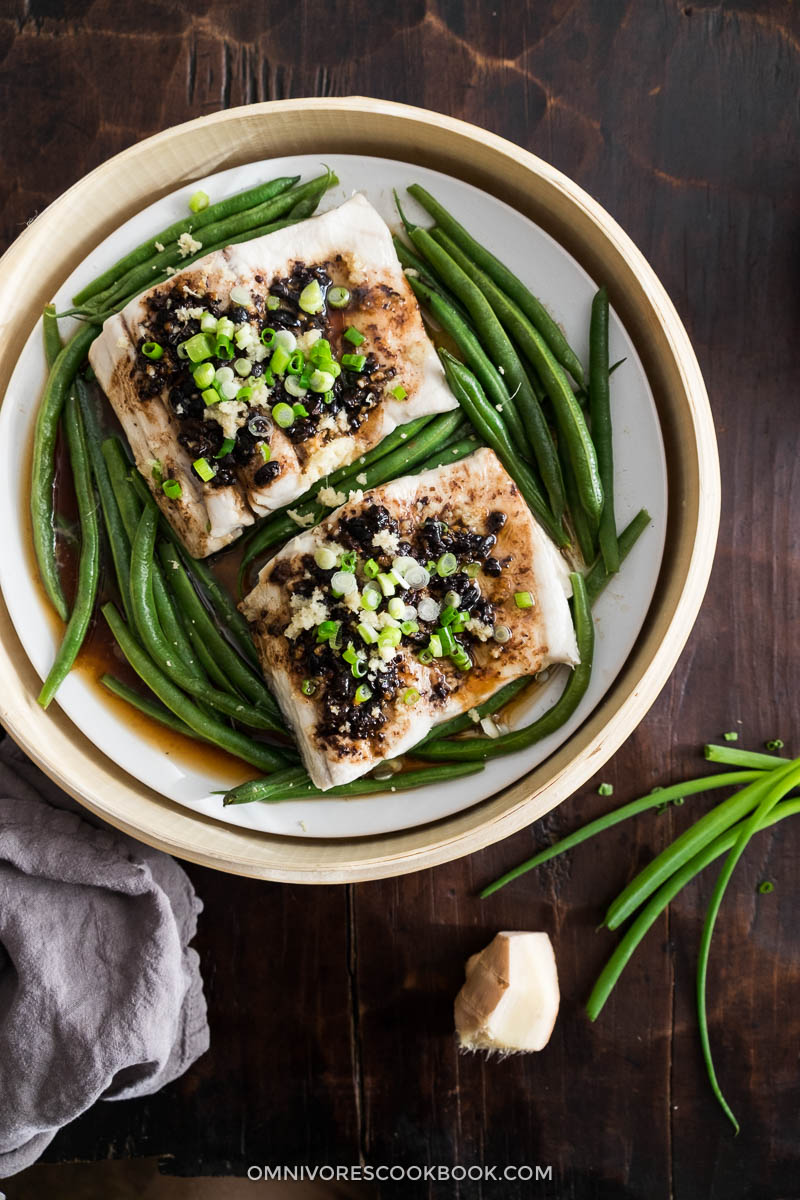 Steamed Fish with Black Bean Sauce (plus Baked Version ...