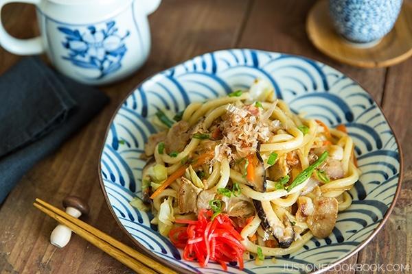 Yaki udon worldwide giveaway good food channel yaki udon forumfinder Images