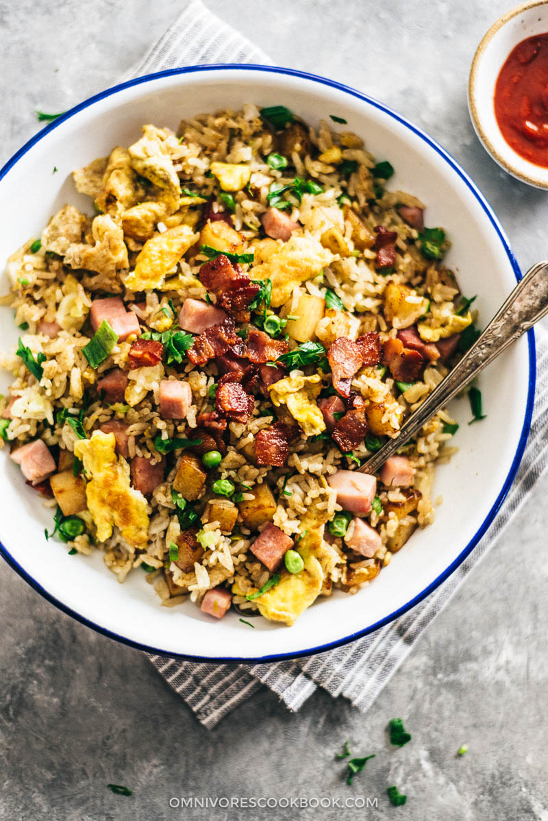 Potato fried rice good food channel delicious healthy potato fried rice easy potato recipes chinese asian healthy forumfinder Images