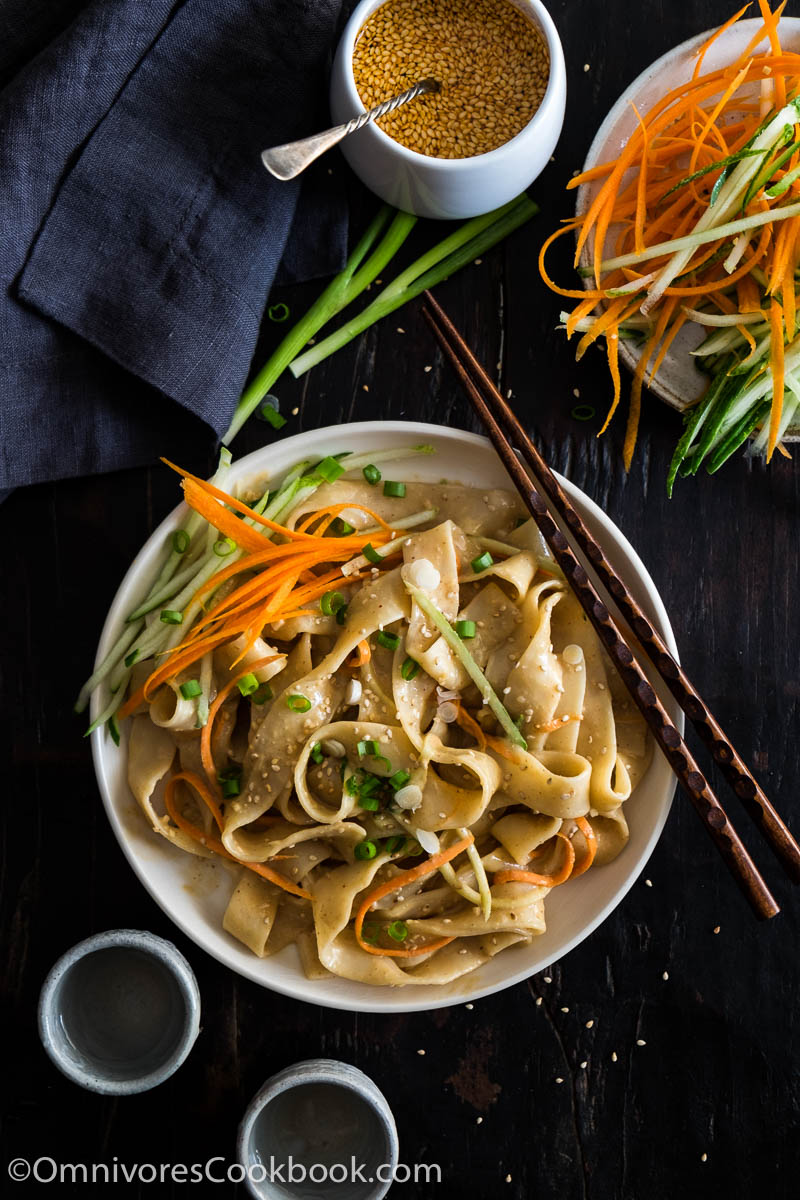 Real deal sesame noodles good food channel delicious healthy these real deal chinese sesame noodles are way better than takeout this post teaches forumfinder Images