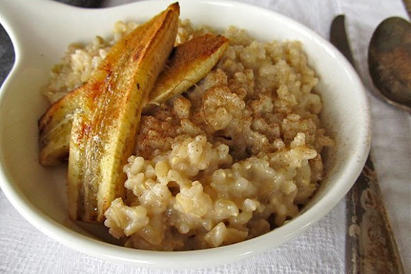 Caramelized Banana in Rice Pudding | Good Food Channel - Delicious ...