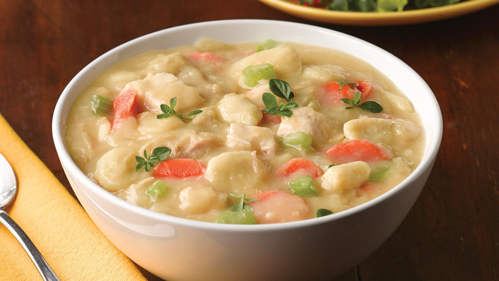 creamy chicken vegetable stew