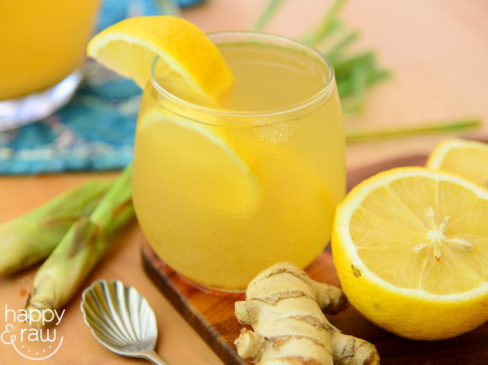 The Lemongrass Tea With Ginger