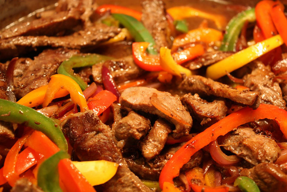 A bite of China- Pepper Steak
