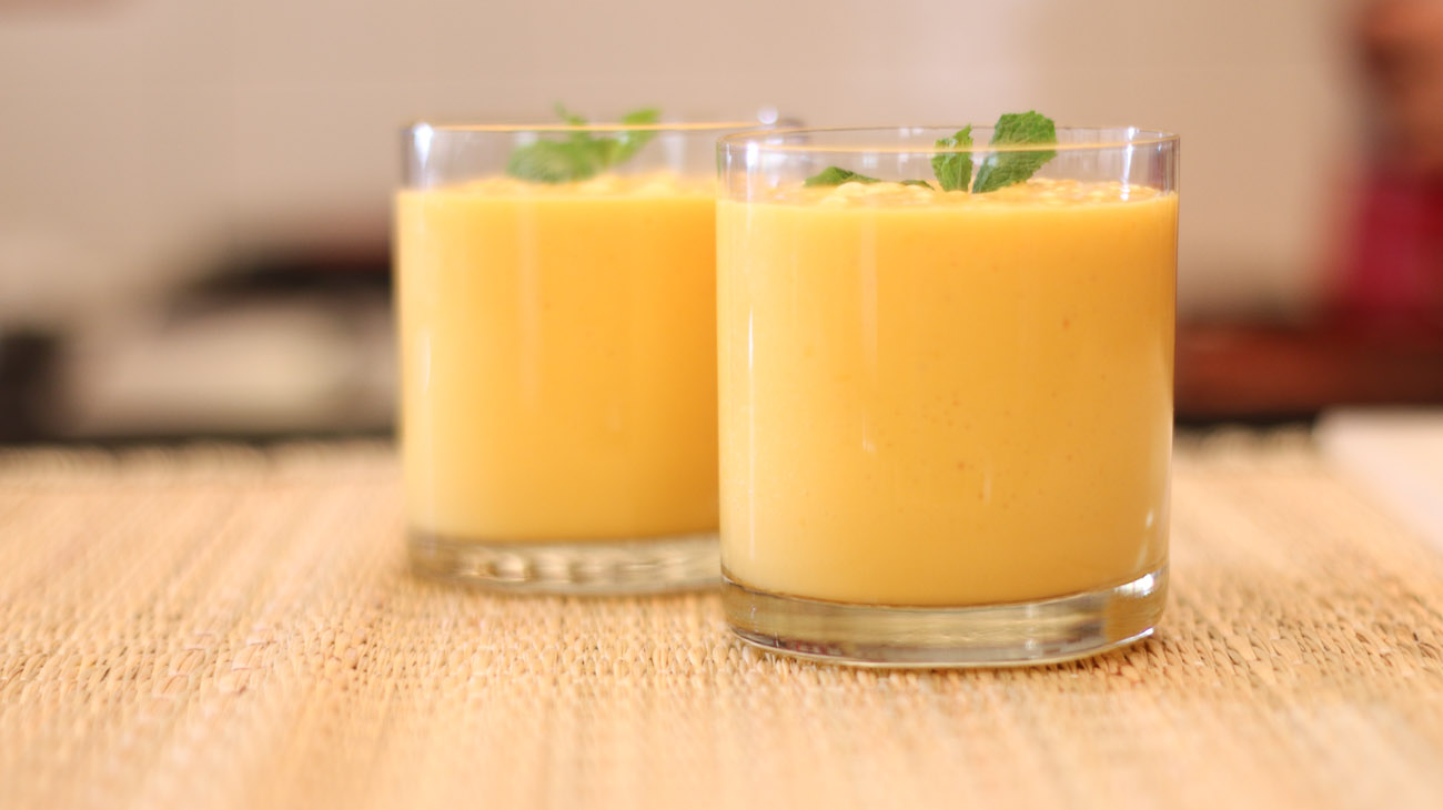 Mango Yogurt Smoothie Beverages