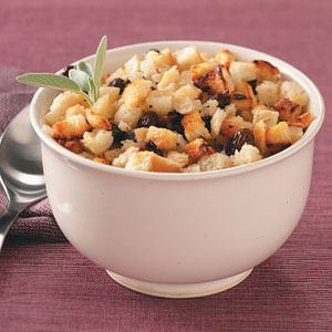 Healthier Apple Bread Stuffing Recipe