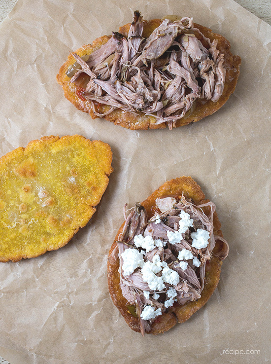 Recipe: Huaraches con Carnitas