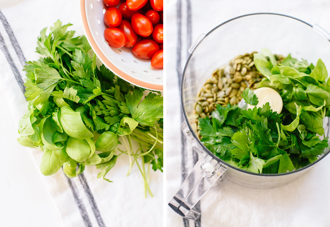 How to make delicious pesto pasta salad good food channel pesto ingredients forumfinder Image collections