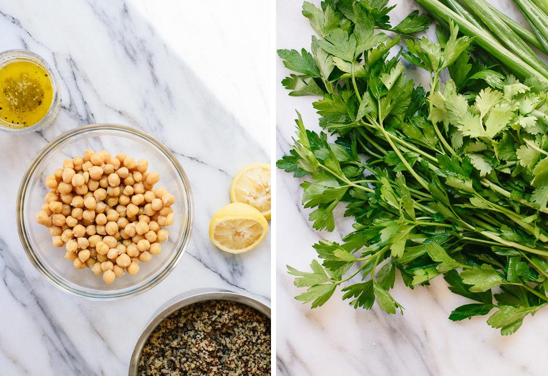 quinoa salad ingredients