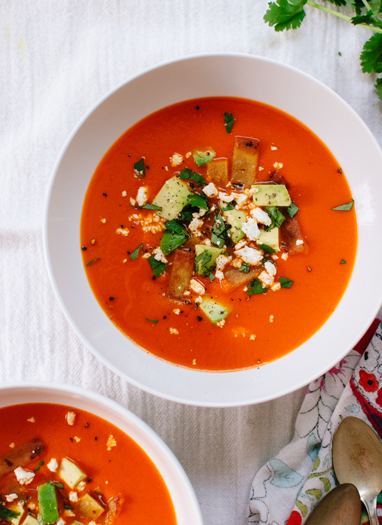 Way to do roasted red pepper tortilla soup good food channel way to do roasted red pepper tortilla soup forumfinder Choice Image
