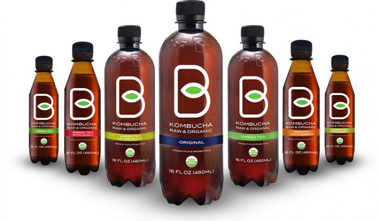 B-Tea Expands Into California with Shelf-Stable Kombucha