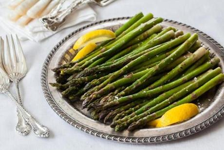 01easter - Recipe for asparagus by Sally Pasley Vargas. (Sally Pasley Vargas for The Boston Globe)