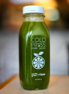 Juice from Pure Cold Press.