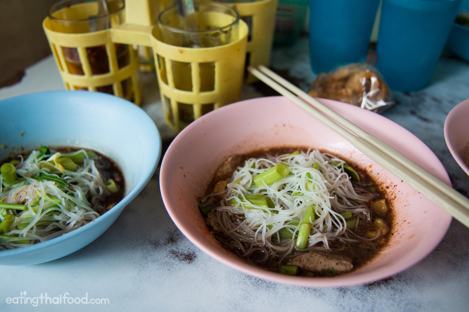 best boat noodles in Bangkok