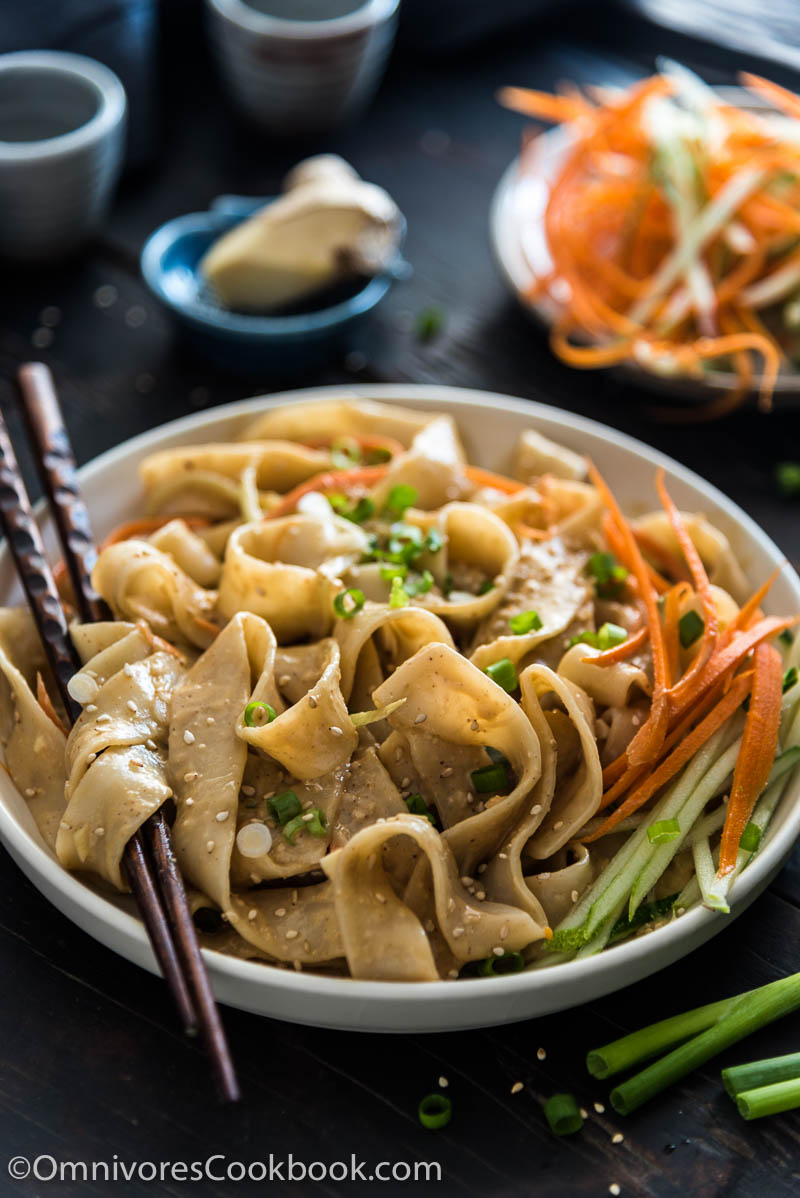These real-deal Chinese sesame noodles are way better than takeout. This post teaches you how to use secret ingredients to make the sauce addictively tasty.