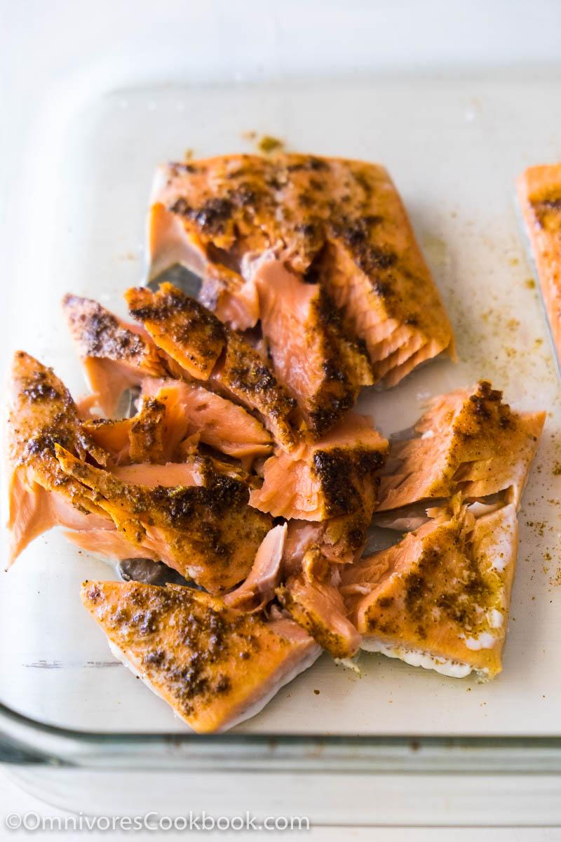 Moist Baked Salmon