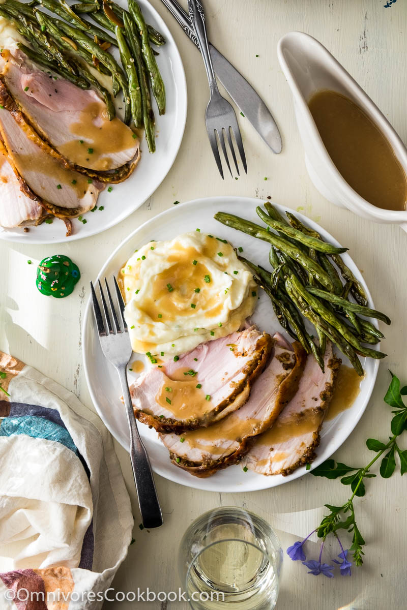 Learn how to cook flavorful and juicy turkey breast in an hour. No marinating and brining required!