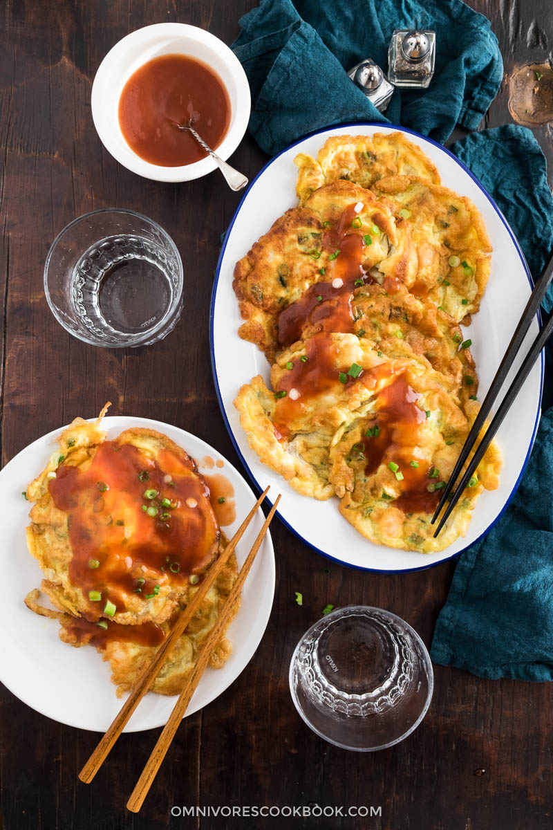 The only Egg Foo Young recipe you need. You can fill your omelet with any fillings you prefer and create a restaurant-style dish in your own kitchen!
