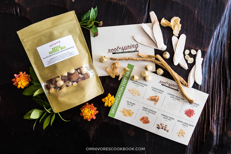 Root and Spring Detox Herbal Soup Mix