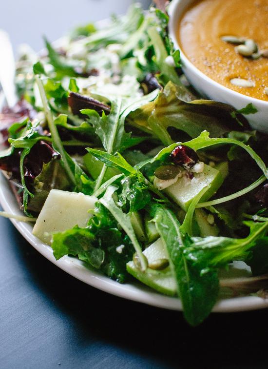 Simple green salad recipe - cookieandkate.com