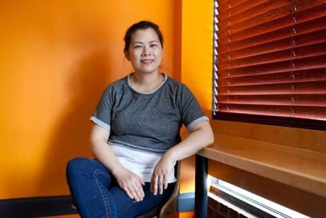 Owner Anna Ruan opened MDM Noodles in March.