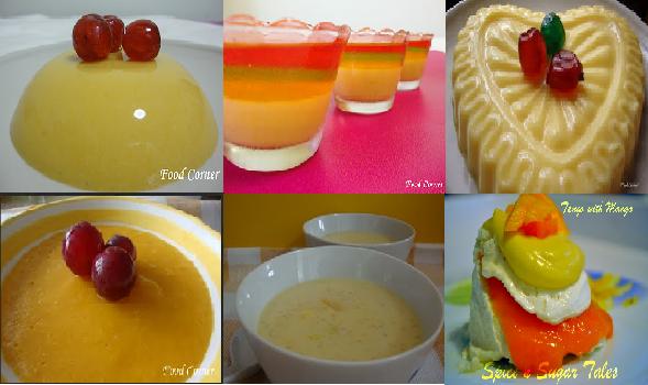 The Instruction Of Mango Pudding