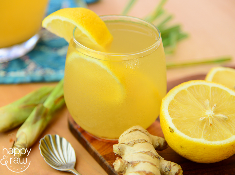 The Lemongrass Tea With Ginger