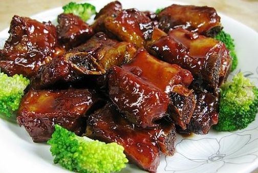 Chinese Spareribs with Teriyaki Glaze