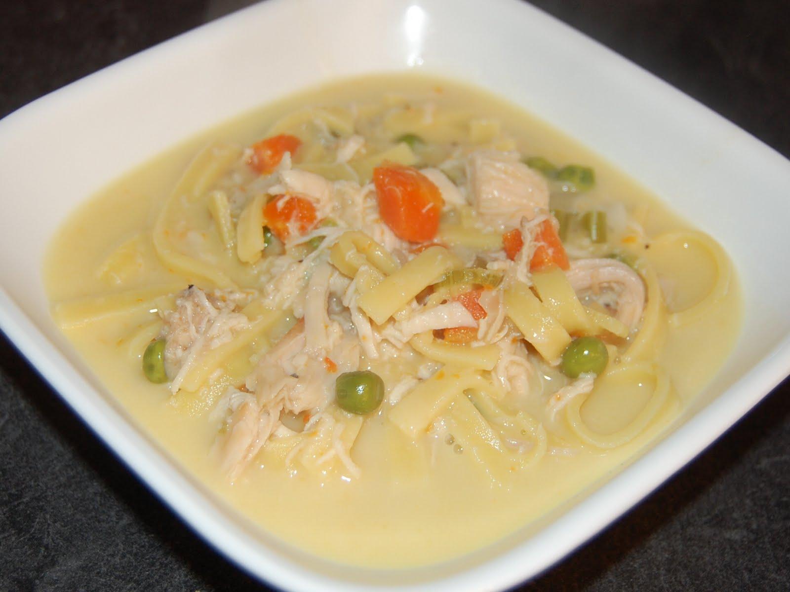 Delicious Creamy Chicken Soup
