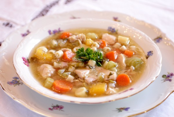 My Slimming Chicken Soup Recipe