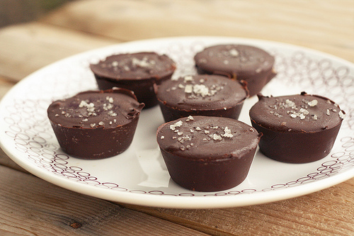 Healthy Desserts:Vegan Almond Butter Cups