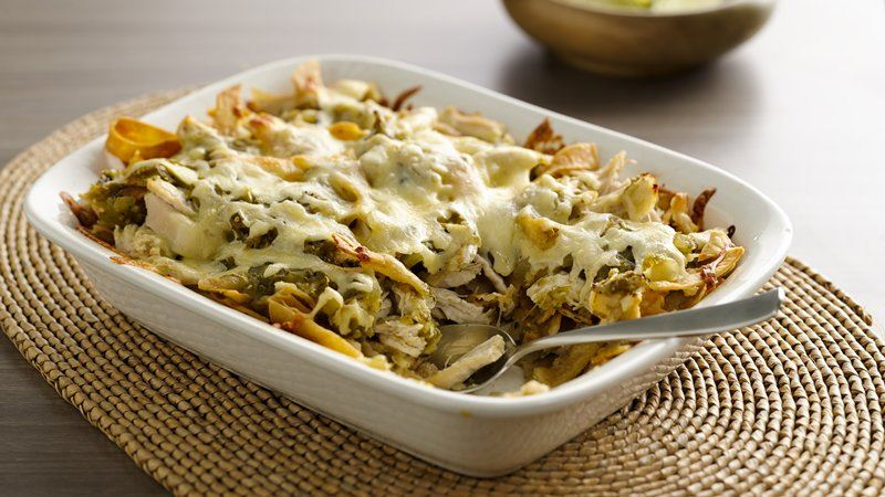 Chilaquiles Verde Bake With Easy Mexican Dish