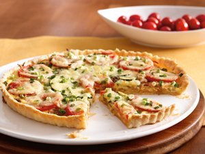 Recipe : Tomato and Onion Tart