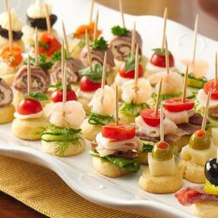 Easy Appetizers For The Perfect Bridal Shower