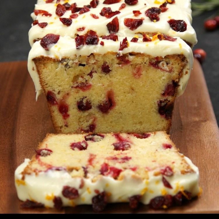 How to Make Cranberry Orange Pound Cake