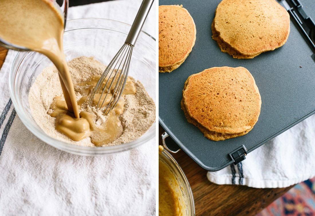 gingerbread pancake instructions