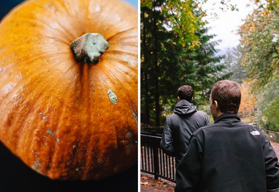 pumpkin and Portland
