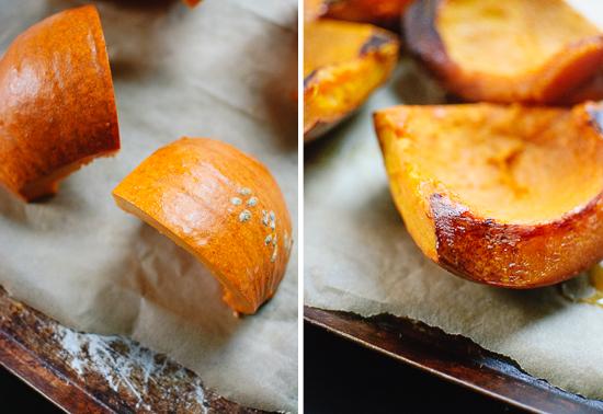 how to make roasted pumpkin soup