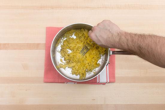 Cook & mash the plantain: